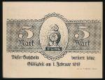 Пайне., 5 марок (1918 г.)