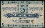 Оффенбург., 5 марок (1919 г.)
