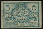 Штольберг., 5 марок (1918 г.)