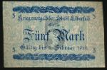 Эльберфельд., 5 марок (1918 г.)