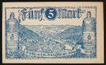 Бад-Эмс., 5 марок (1919 г.)