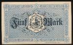 Эркеленц., 5 марок (1918 г.)