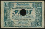 Дёбельн., 5 марок (1918 г.)