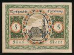 Линденберг-им-Алльгой., 5 марок (1918 г.)