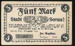 Жары., 5 марок (1919 г.)