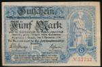 Аннаберг-Буххольц., 5 марок (1918 г.)