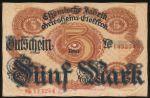 Хемниц., 5 марок (1918 г.)