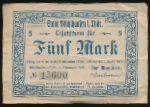 Мюльхаузен., 5 марок (1918 г.)