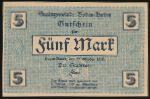 Баден-Баден., 5 марок (1918 г.)