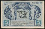 Мюнхен., 5 марок (1919 г.)