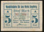 Зегеберг., 5 марок (1918 г.)