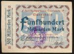 Траунштайн., 500000000000 марок (1923 г.)