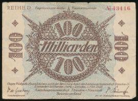 Дрезден., 100000000000 марок (1923 г.)