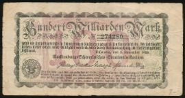 Мекленбург-Передняя Померания., 100000000000 марок (1923 г.)