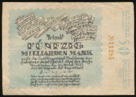 Нотгельды Германии, 50000000000 марок (1923 г.)