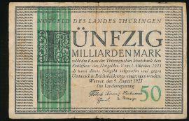 Веймар., 50000000000 марок (1923 г.)