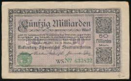 Мекленбург-Передняя Померания., 50000000000 марок (1923 г.)