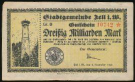 Целль., 30000000000 марок (1923 г.)