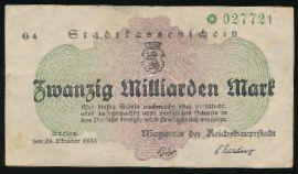 Берлин., 10000000000 марок (1923 г.)