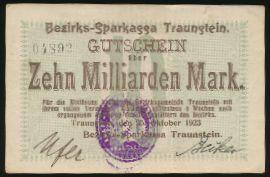 Траунштайн., 10000000000 марок (1923 г.)