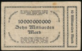 Шверин., 10000000000 марок (1923 г.)