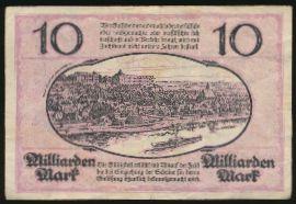 Пирна., 10000000000 марок (1923 г.)