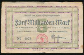 Зинген., 5000000000 марок (1923 г.)