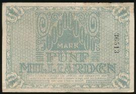 Рохлиц., 5000000000 марок (1923 г.)