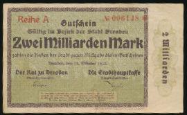 Дрезден., 2000000000 марок (1923 г.)