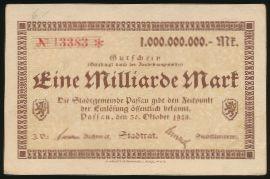 Пассау., 1000000000 марок (1923 г.)