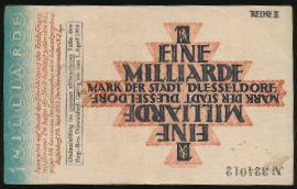 Дюссельдорф., 1000000000 марок (1924 г.)