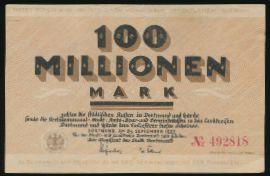 Дортмунд., 100000000 марок (1923 г.)