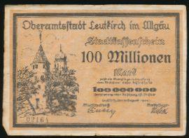 Лойткирх., 100000000 марок (1923 г.)