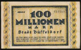 Дюссельдорф., 100000000 марок (1923 г.)