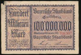 Мюнхен., 100000000 марок (1923 г.)