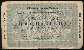 Бохум., 100000000 марок (1923 г.)