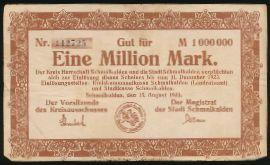 Шмалькальден., 1000000 марок (1923 г.)