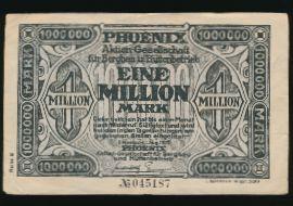 Дюссельдорф., 1000000 марок (1923 г.)