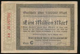Мюльхайм-ан-дер-Рур., 1000000 марок (1923 г.)