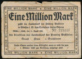 Мюнстер., 1000000 марок (1923 г.)