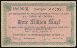 Штольберг., 1000000 марок (1923 г.)