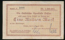 Пассау., 1000000 марок (1923 г.)