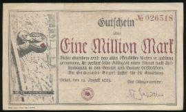 Бойель., 1000000 марок (1923 г.)