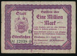 Роденкирхен., 1000000 марок (1923 г.)