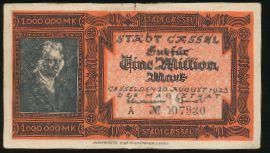 Кассель., 1000000 марок (1923 г.)