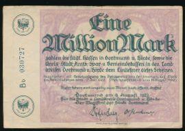 Дортмунд., 1000000 марок (1923 г.)