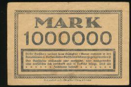 Дрезден., 1000000 марок (1923 г.)