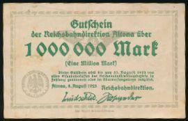Альтона., 1000000 марок (1923 г.)