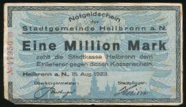 Хайльбронн., 1000000 марок (1923 г.)
