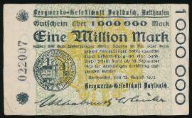 Роттхаузен., 1000000 марок (1923 г.)